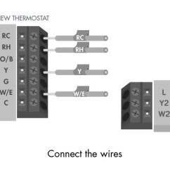 Room Stat Wiring Diagram 2008 Nissan Altima Stereo How Do I Wire My Thermostat Sensi Support Connect The Wires