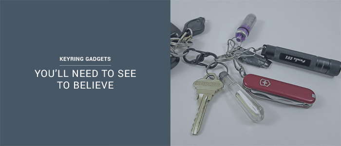 7 Keyring Gadgets You'll Need To See To Believe