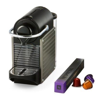 Nespresso Pixie Coffee Machine And Nespresso Coffee Pods