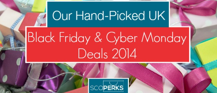 Our Hand Picked UK Black Friday & Cyber Monday Deals 2014