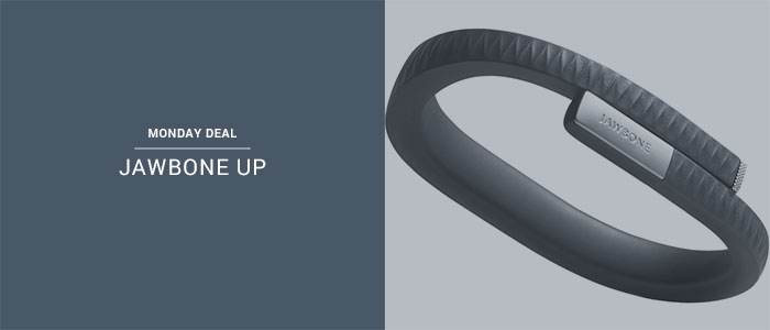 MONDAY DEAL: Jawbone UP Fitness Tracker