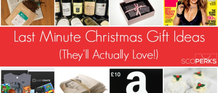 Last Minute Christmas Gift Ideas (They'll Actually Love!)