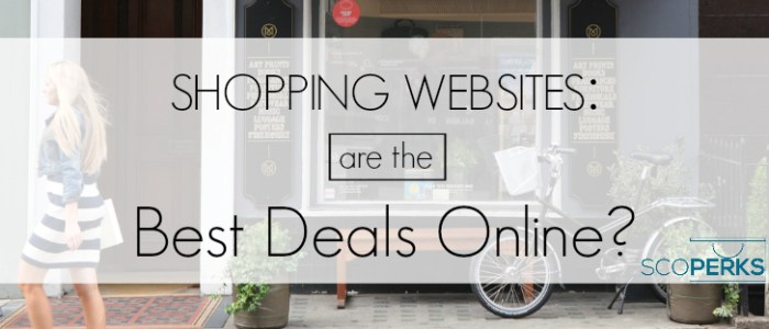 Shopping Websites: Are The Best Deals Online?