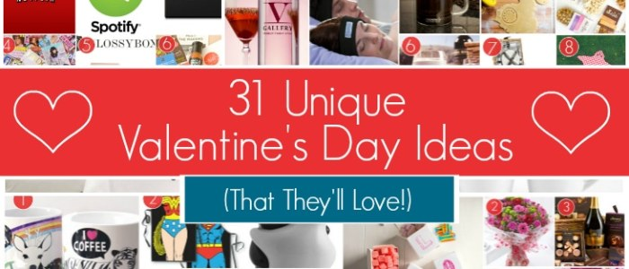 31 Unique Valentine's Day Ideas They'll Love