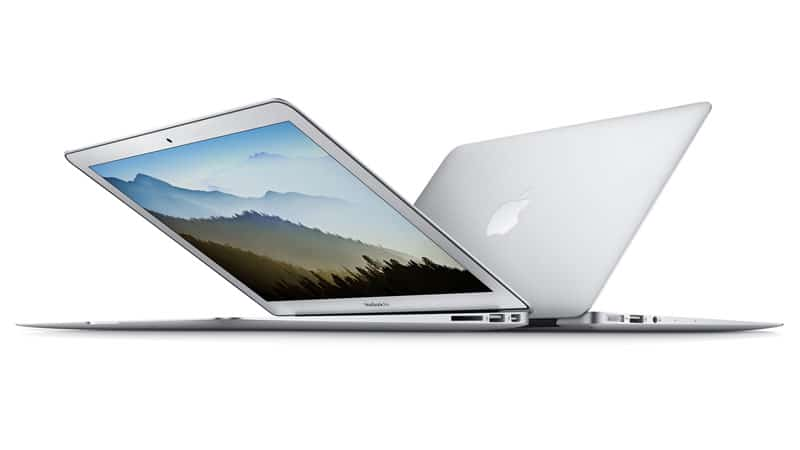 A Macbook Air Laptop