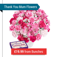 A Mother's Day Pink Flower Bouquet
