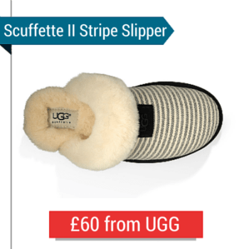 The Scuffette II Stripe Slippers From UGG