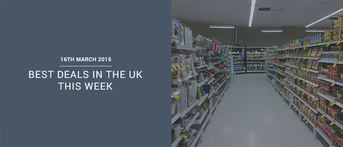 Best Deals In The UK This Week – 16th March 2015