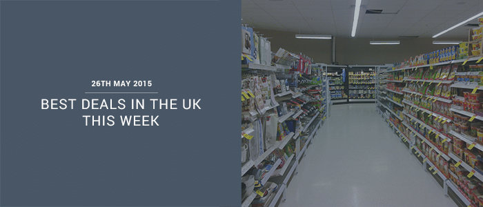 Best Deals In The UK This Week – 26th May 2015
