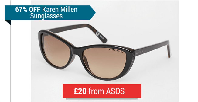 Karen Millen Sunglasses From ASOS