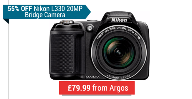 Nikon L330 Deal
