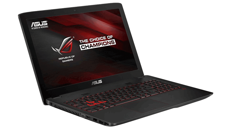 Asus GL552JX 15.6-Inch Gaming Laptop - best budget gaming laptop