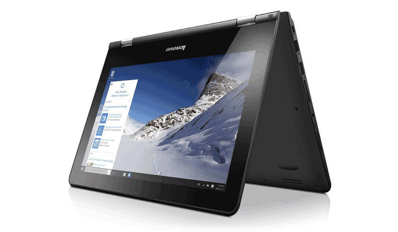 Lenovo YOGA 300 11.6 inch Convertible Notebook - best budget laptops