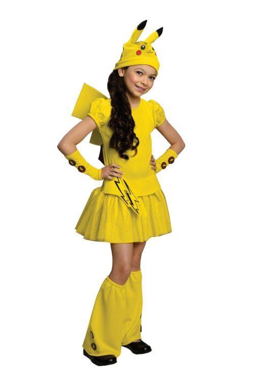 girls-halloween-costume-pokemon-pikachu