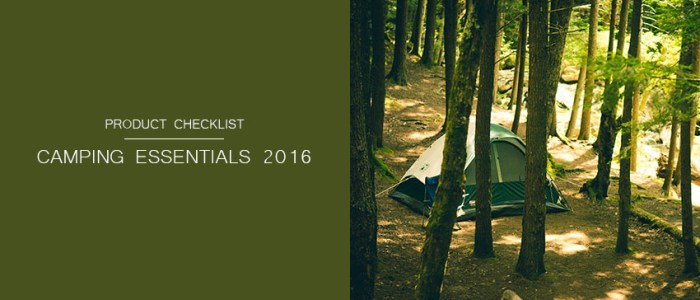Best Camping Essentials Checklist 2016: UK Product Reviews