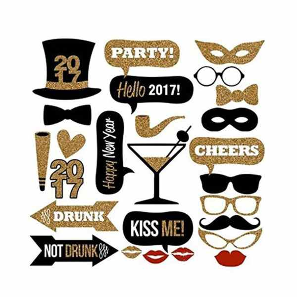 2017-new-years-eve-gold-black-party-photo-booth-props