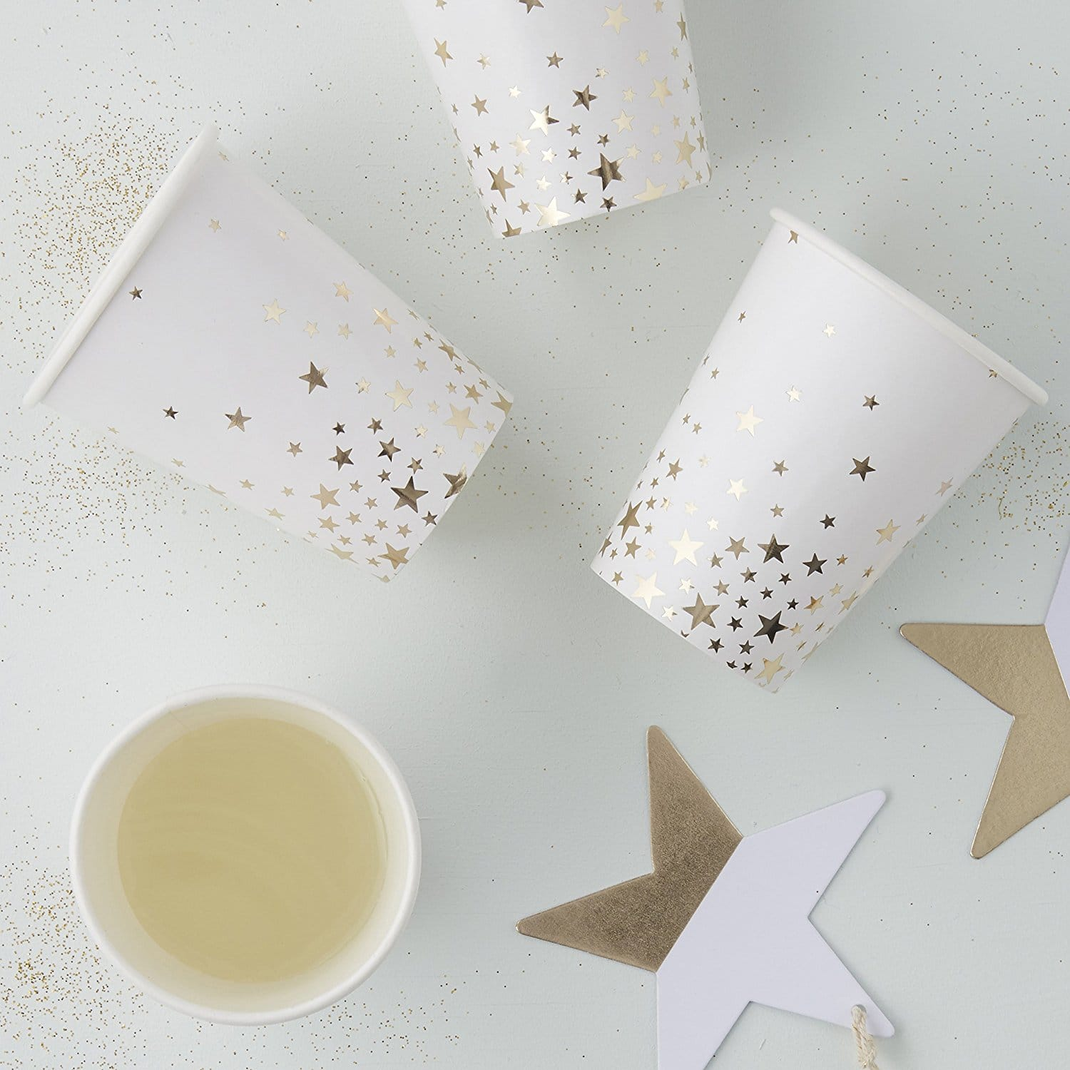 ginger-ray-gold-foiled-star-paper-party-cups