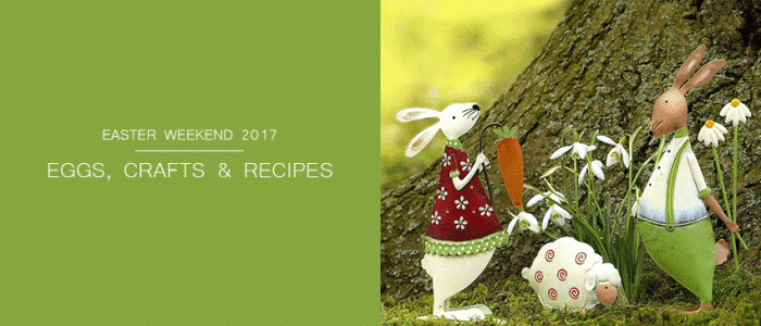 Easter Weekend: Our Favourite Activities, Craft Ideas, Recipes & Easter Eggs