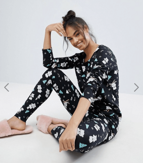 ladies-christmas-pyjamas