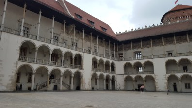 The castle from the interior courtyard. We could go no further.