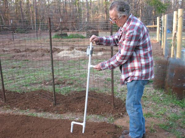 Build Hand-held Corn And Bean Planter Survival