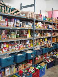 Full food pantry