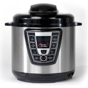 Power cooker pressure canning