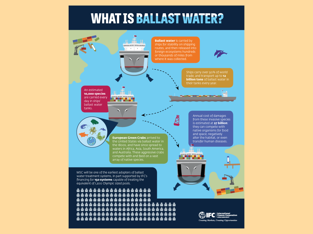Ballast Water infographic