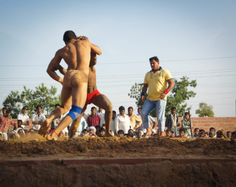 Indian wrestlers have used cannabis for centuries (© Wiki Commons)