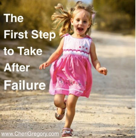 The First Step to Take After Failure
