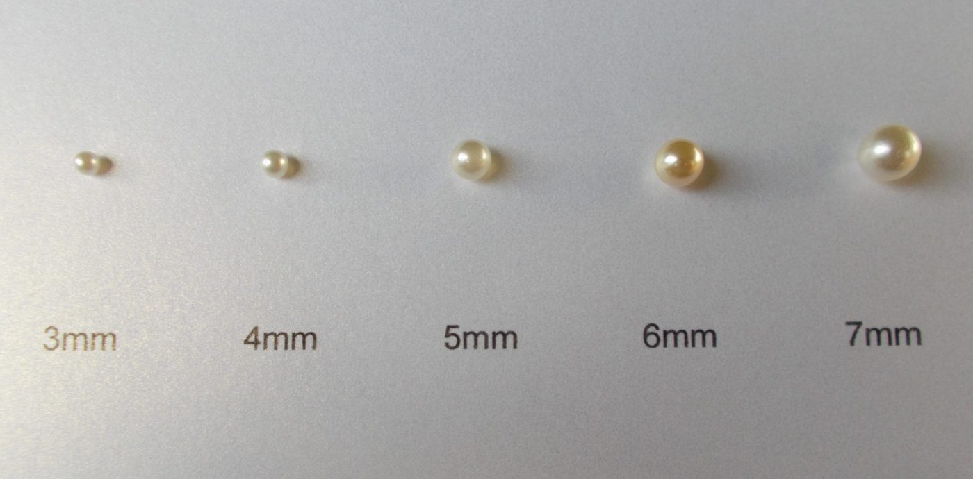 5mm Pearl Stud Earrings