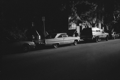 car.night.brooklyn_400, photograph by Ted Barron