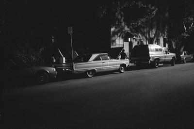 car.night.brooklyn_400, photograph by Ted Barron