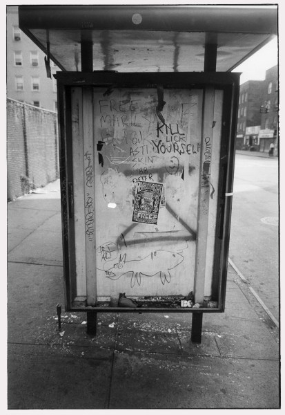 Bus Stop, photograph by Ted Barron