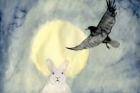 Rabbit and Crow, by Jóhanna Ellen