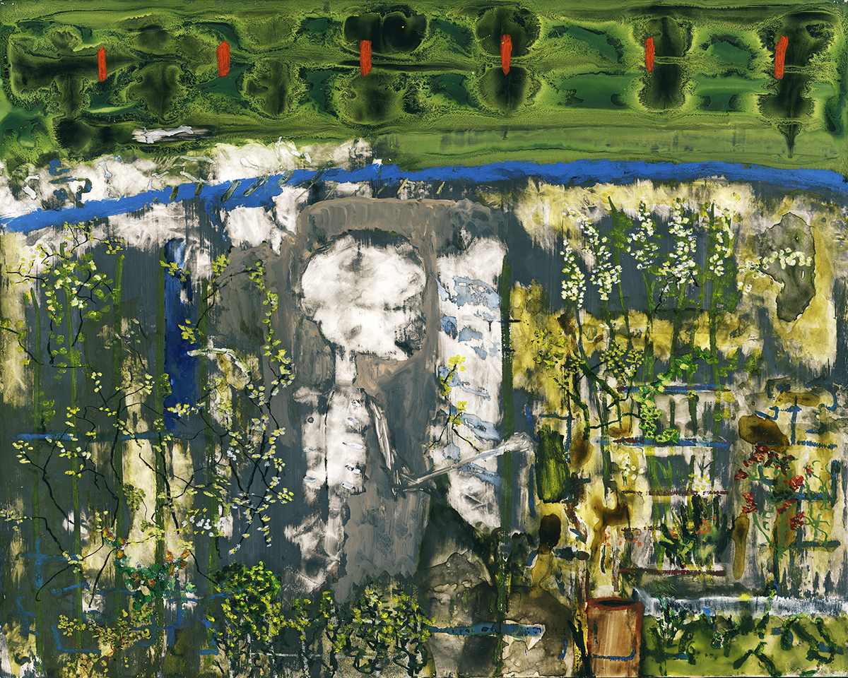 The Skeleton in My Closet Has Moved Out to the Garden, by John Lurie