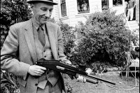 Photograph of William S. Burroughs by Ruby Ray