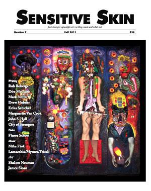 Sensitive Skin #7 cover Shalom Neuman