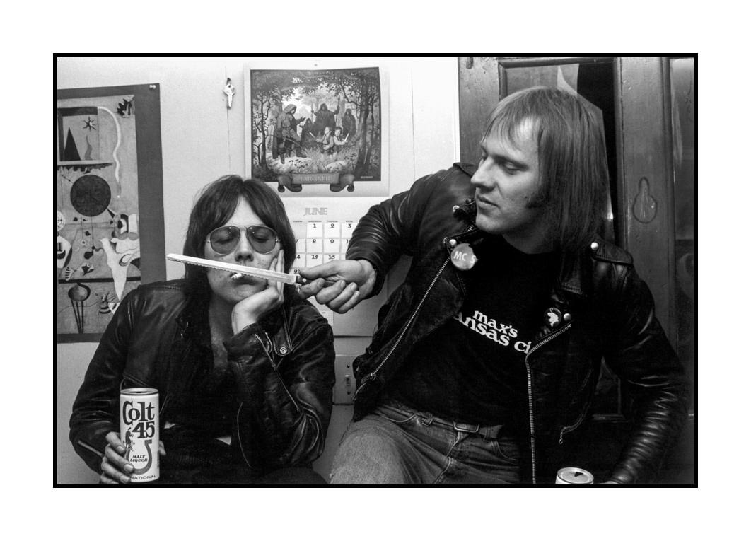 Ron Asheton and Dennis