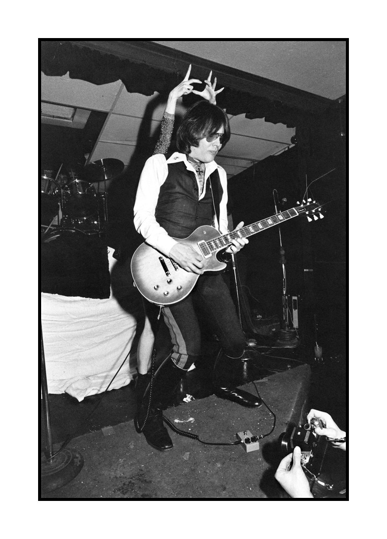 Ron Asheton and Niagara of Destroy All Monsters, Detroit, 1978