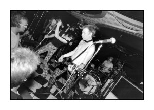The Dead Boys. Detroit punk photograph Sue Rynski.