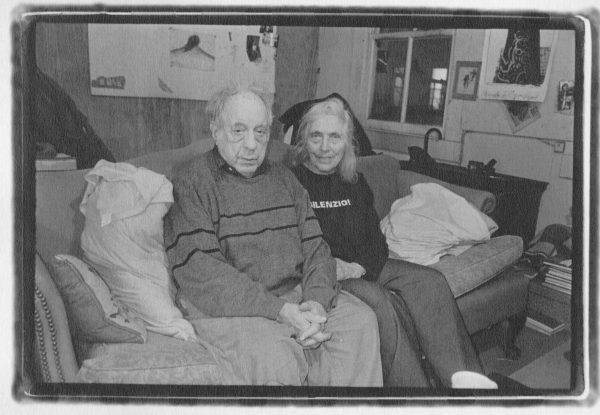 Robert Frank and June Leaf