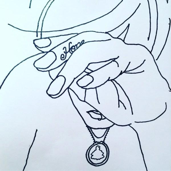 Drawing by Tona Hamashige