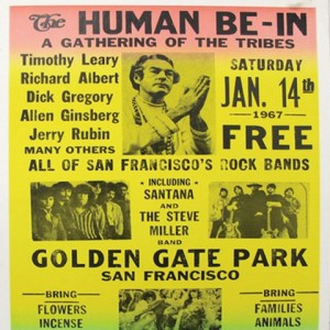 Human Be-In Timothy Leary