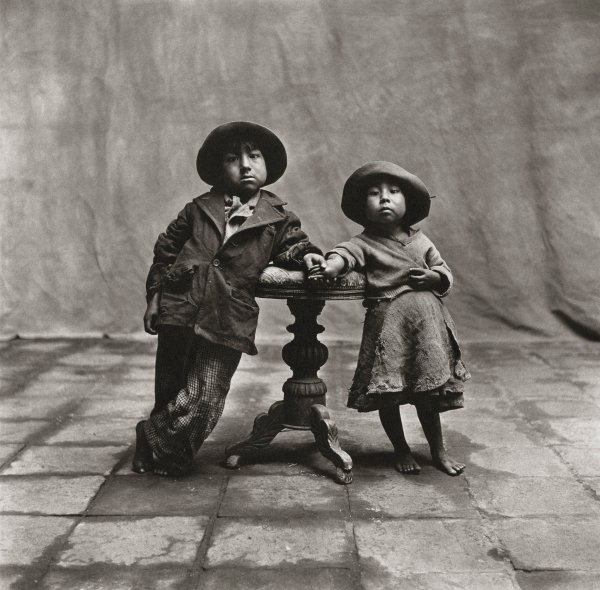 Irving Penn Cuzco Children 1948
