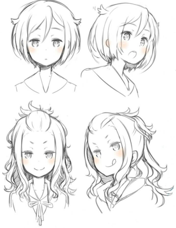 Anime Hair Ideas : anime, ideas, Anime, Hairstyles, Collection, Sensod