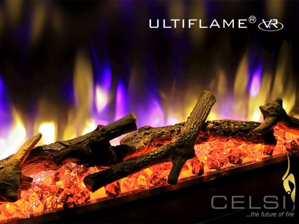 Celsi Ultiflame VR Instinct Inset Wall-Mounted Electric Fire