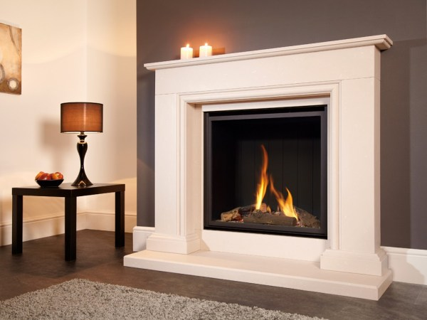 Flavel Sophia Gas Fireplace Suite