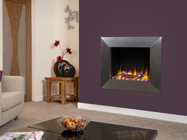 Celsi Ultiflame VR Impulse Electric Fire Silver