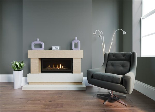 Inspiration 800 Marble Fireplace Suite